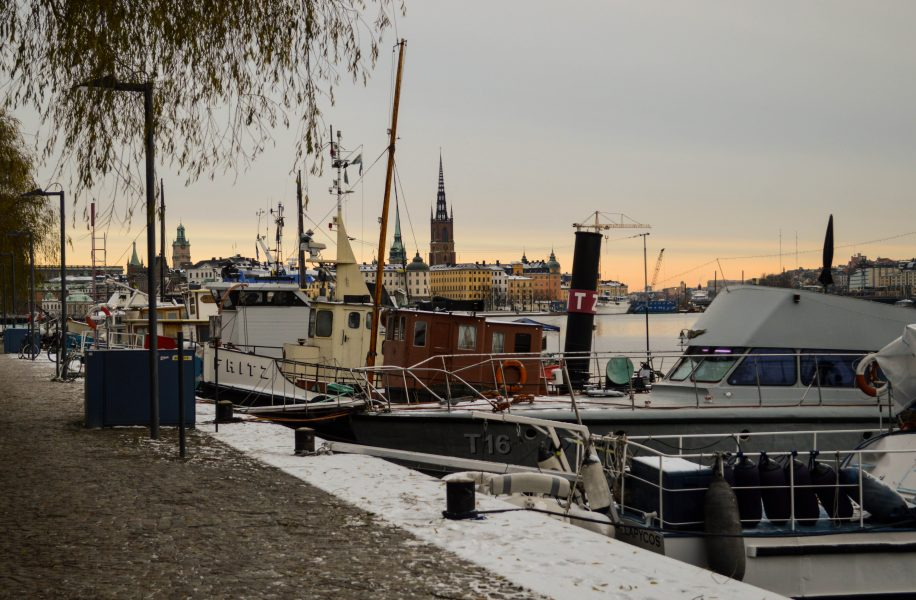 Lake Malaren in Stockholm