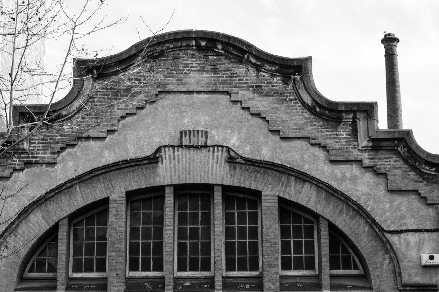 Old factory in Poblenou
