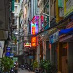 The backstreets of Ho Chi Minh City