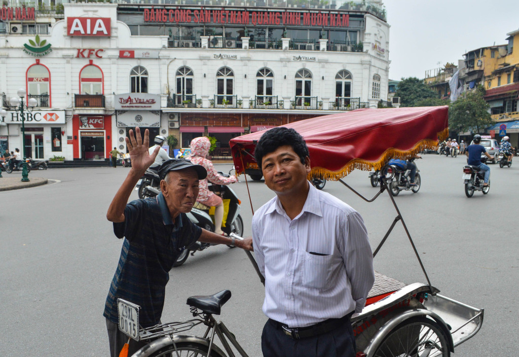 Cheeky chaps from Hanoi