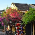 Narrow lanes of Hoi An's Old Town