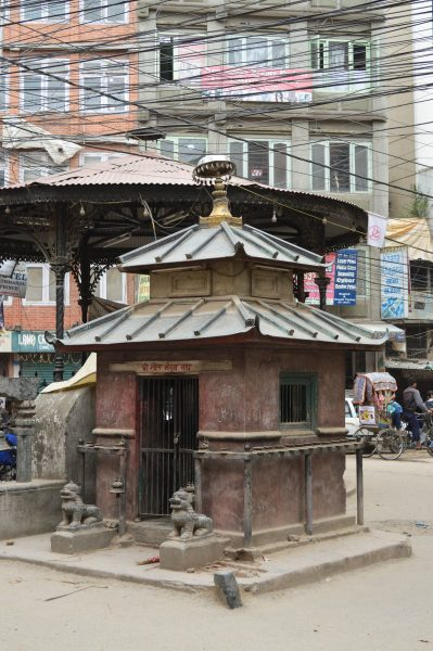 A junction near Chhetrapati