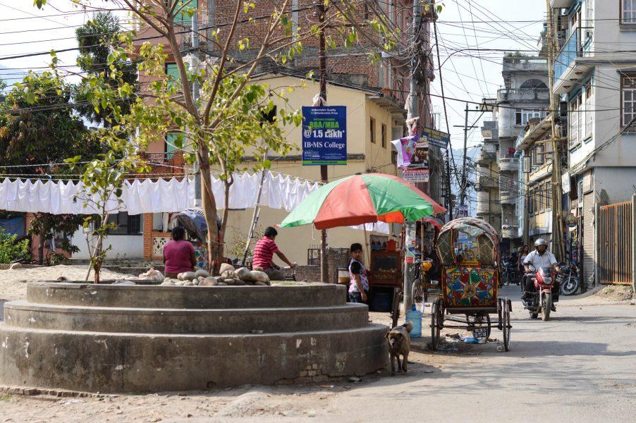 In Kathmandu's area of Chhetrapati