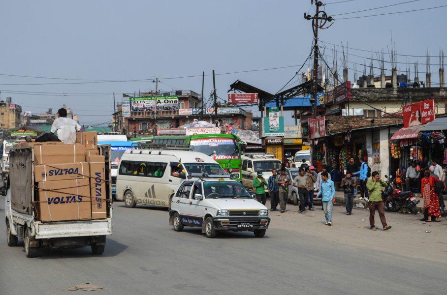 Kathmandu's street rush