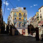 In the city center of Tarragona