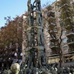 The statue of Castellers