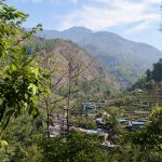 Starting my trek in Nayapul