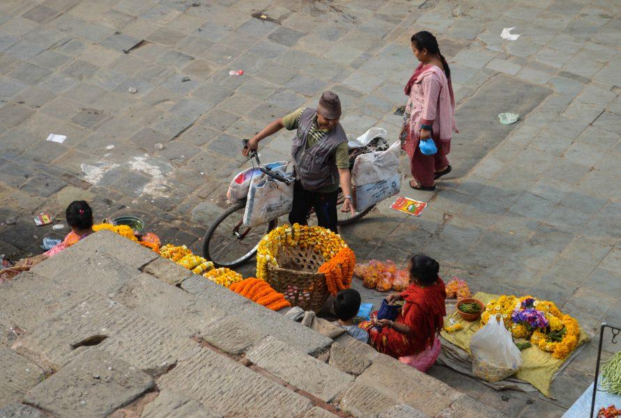 Buying floral garlands