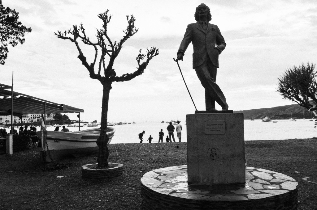 Dalí's Statue in Cadaques