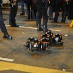 Police in Mong Kok
