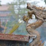 At the Po Lin Monastery