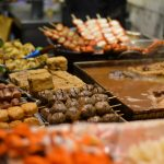 Food markets in Mong Kok