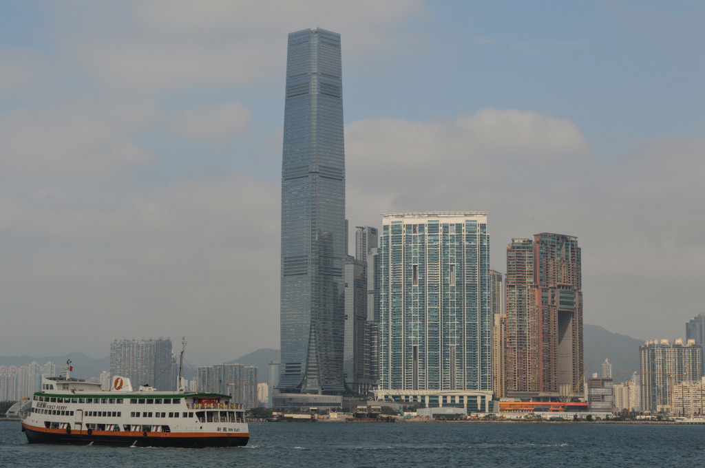 ICC Tower in West Kowloon