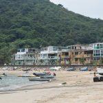 Peng Chau Island's beach