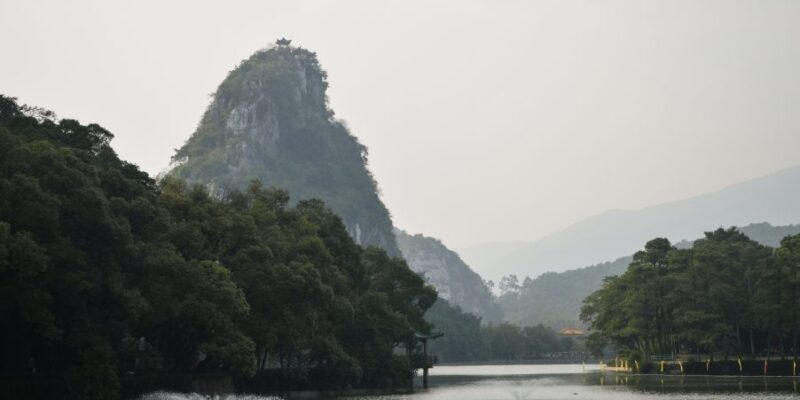 Limestone Crags in Zhaoqing