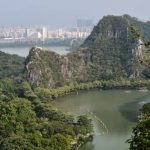 Zhaoqing - A view from a crag