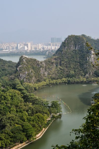 Zhaoqing – A view from a crag