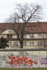 At the Berlin Wall Memorial
