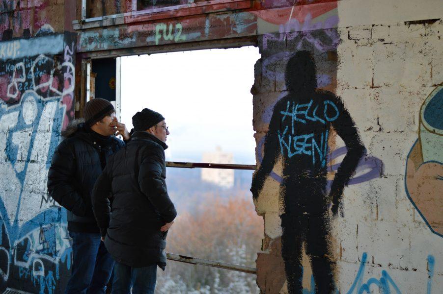 Hello Kleen at the Teufelsberg