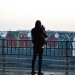 Picture time at the Teufelsberg