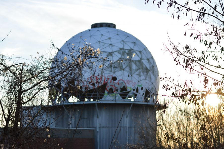 Radar dome at the Teufelsberg