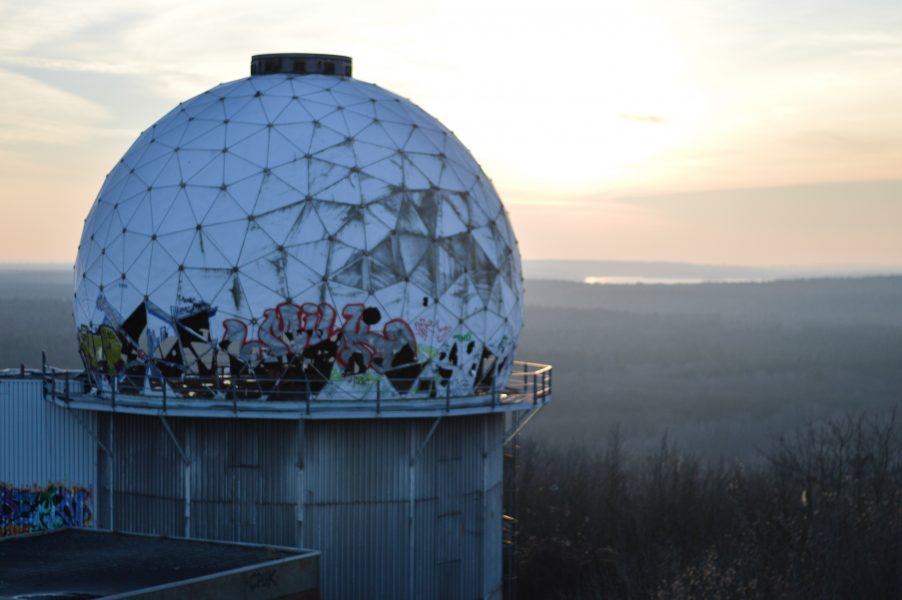 Radar dome at the Teufelsberg