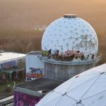 Radar domes at the Teufelsberg