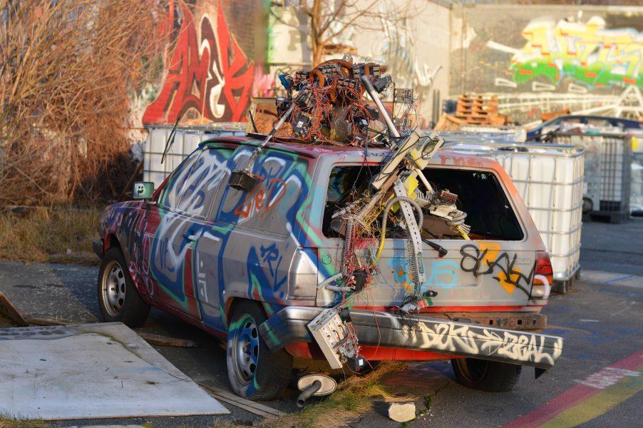 Teufelsberg – Ruined Car
