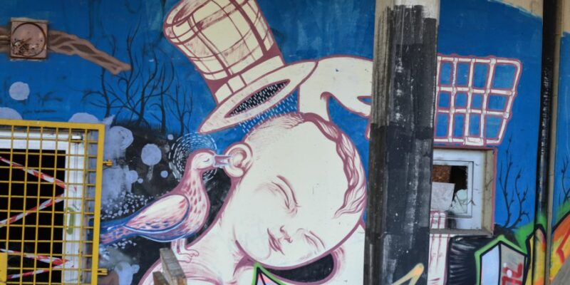 Teufelsberg - Urban art