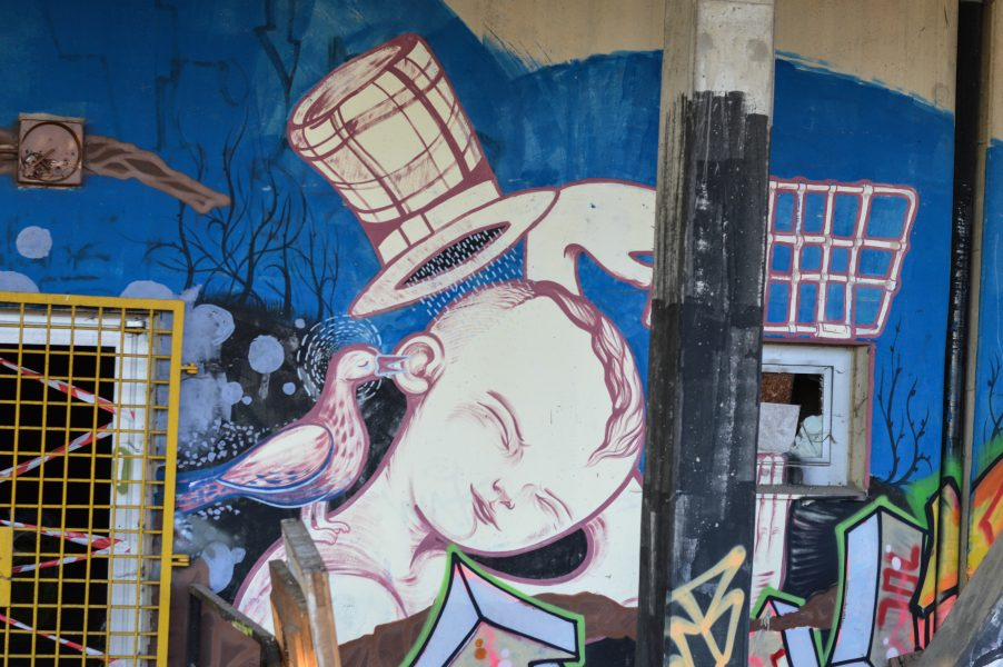 Teufelsberg – Urban art