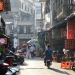 The backstreets of Haikou