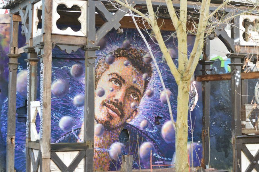Urban art at the Teufelsberg