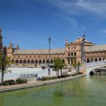 Plaza de España - The river