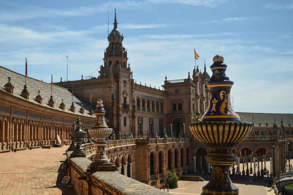 Plaza de España - The pavilion building