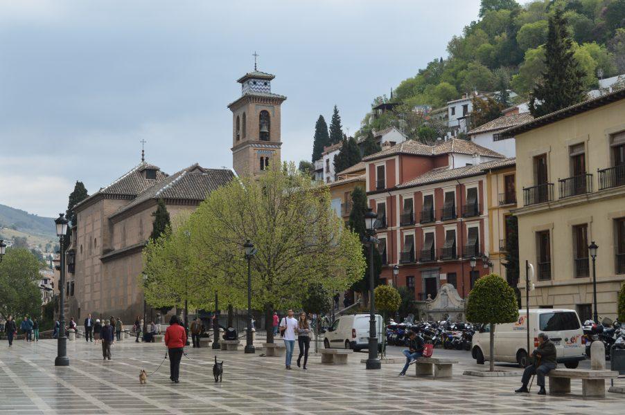 Plaza Nueva in Granada