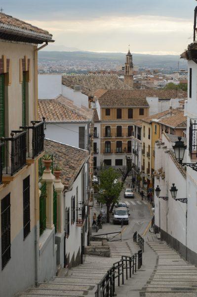 Walking the hills of Granada