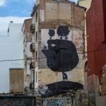 Street art piece in Valencia