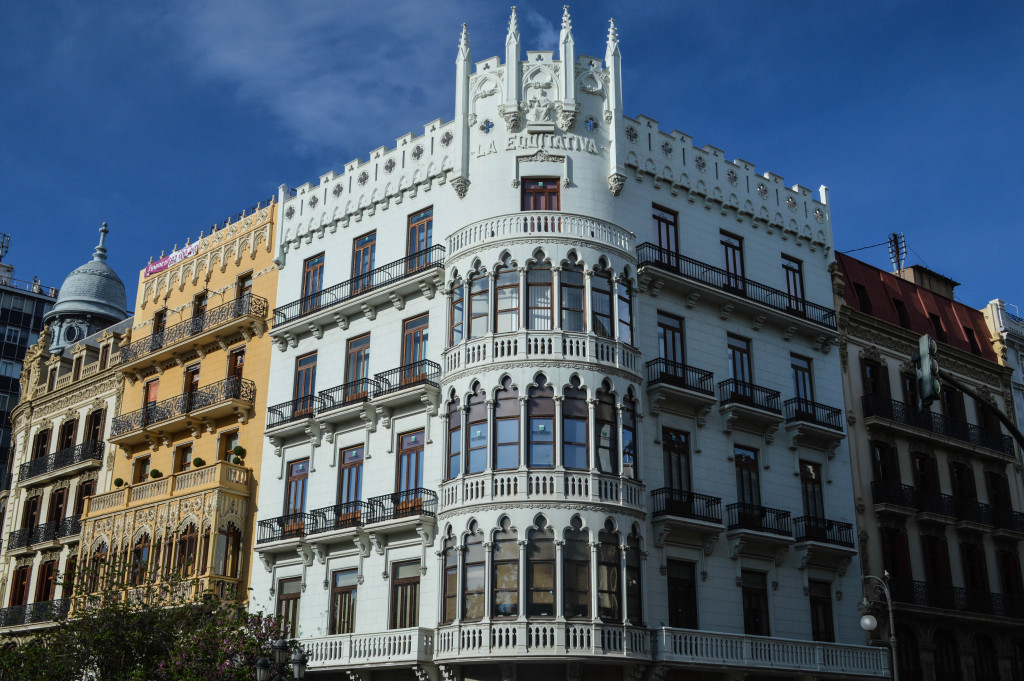 The Plaza del Ayuntamiento