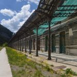French side of Canfranc Train Station