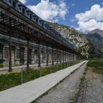 Outside Canfranc Station