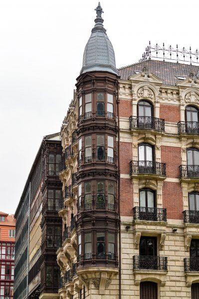 A building in Bilbao