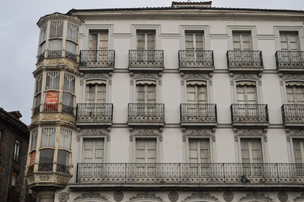 An example of architecture in Vitoria