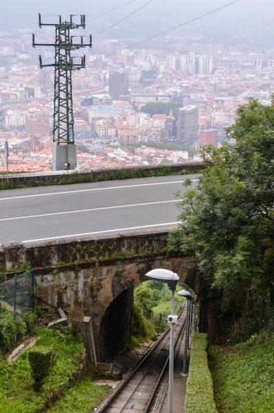 A trip by Funicular de Artxanda