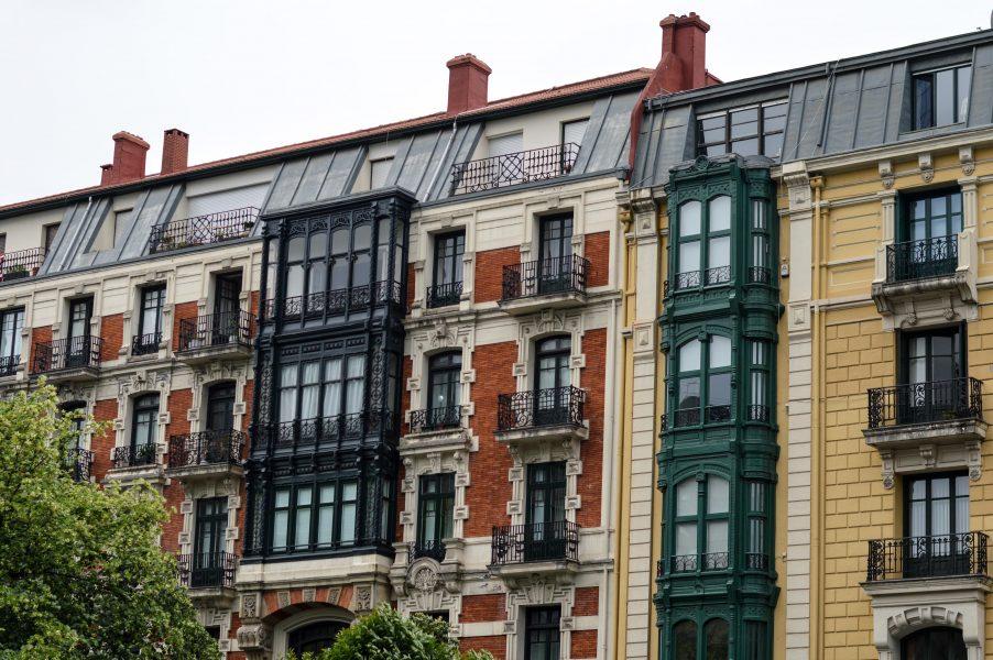 Architecture around Bilbao