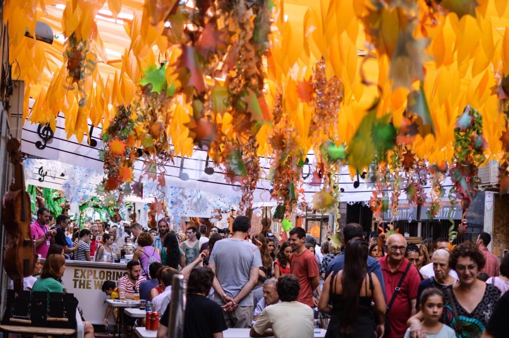 Fiesta in Carrer Providencia