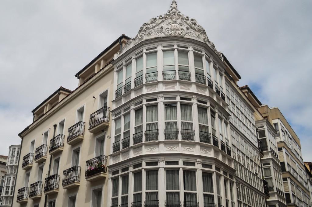 Great architecture around Vitoria