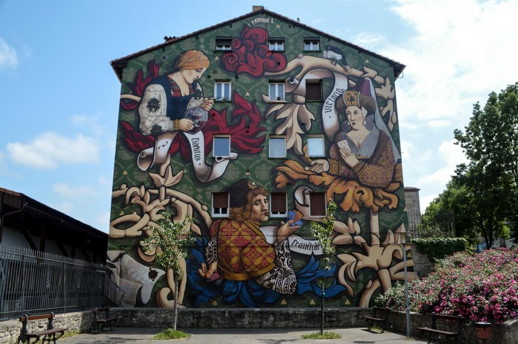 Mural El Triunfo de Vitoria