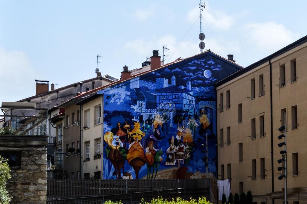 Mural in Vitoria-Gasteiz