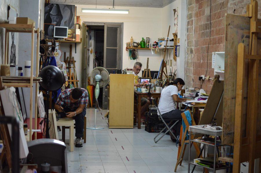 Open studios during Festa Major