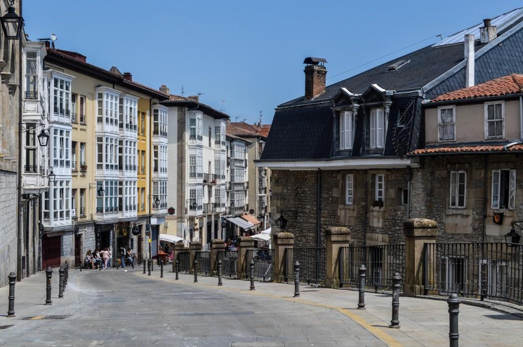 Streets in Vitoria-Gasteiz